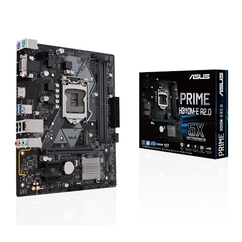 ASUS PRIME H310M-E R2.0 Prise Intel 1151 Carte Mère